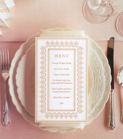 Great idea diy menu cards r p scissors blog martha stewart has a great templates available for free online for a simple do it yourself project and once wed has a super cute diy menu with instructions solutioingenieria Gallery