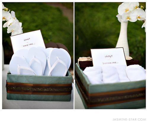 Wedding-shawl-pashmina-basket-flip-flops
