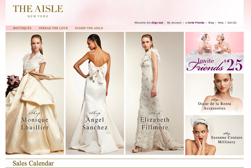 online-bridal-sale-trunk-show
