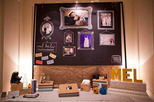 chalkboard-frames-wedding-foamboard