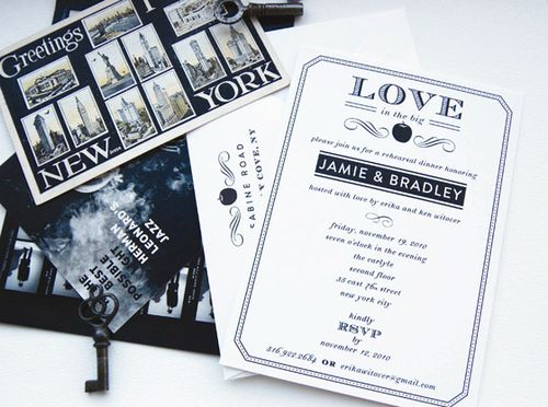 new-york-vintage-wedding-invitation
