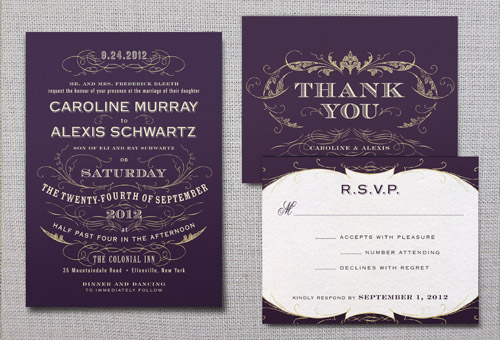 Gorgeous and Affordable Wedding Invitations R P Scissors Blog