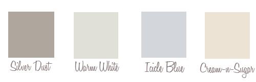 winter wedding color inspiration