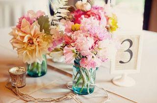 Pink-peony-wedding-centerpieces