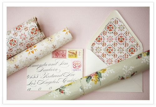 diy+vintage+wedding invitations+wallpaper
