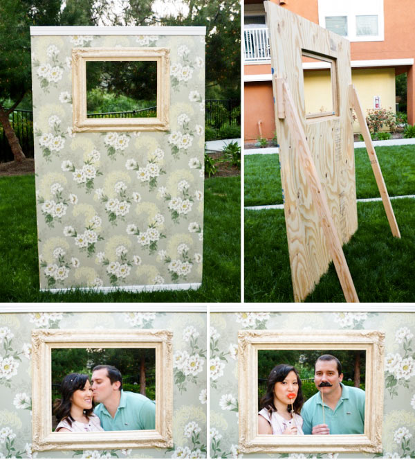 Wedding Photo Booth Ideas 18 Unique Vintage wall photobooth background