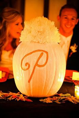 Pumpkin-monogram-wedding