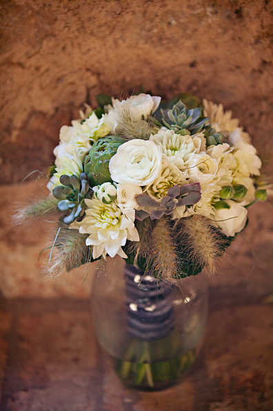 white-green-whimsical-bridal-bouquet