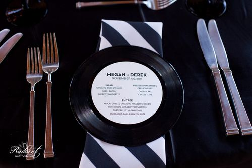 record-menu-wedding-rock-and-roll