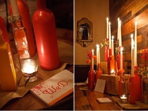 Wine-Bottle-Decor-Florals-and-Candles