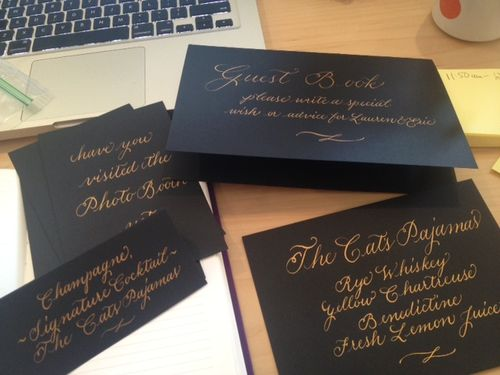 calligraphy-gatsby-inspired-wedding-signature-cocktail-the-cat's-pajamas