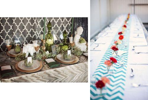 chevron-table-runner-wedding-printed-table-runners