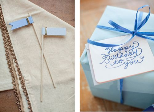 blue-gold-drink-flags-birthday-party-blue-gift-wrap-hand-gift-wrap-napkin-with-gold-trim